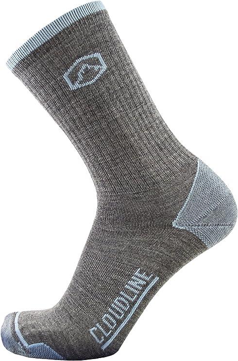 CloudLine lana Merino calcetines de senderismo y Athletic - Ultra Luz - fabricado en Estados Unidos: Amazon.es: Ropa y accesorios