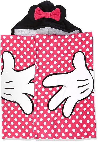 Minnie Classic Dots, Toalla de Playa para Niñas, Rosa (Pink 2) Talla