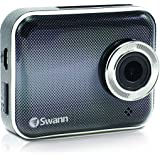 Swann  DriveEye 3MP HD Dash Cam with Video & Audio Recording/  Smartphone App/ WiFi/ Rechargable Battery - SWADS-150DCM-US