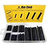 Am Tech 127pc Heat Shrink Motorcycle Wiring Wire Wrap Assortment Insulation Set. Sizes : 2 - 13mm