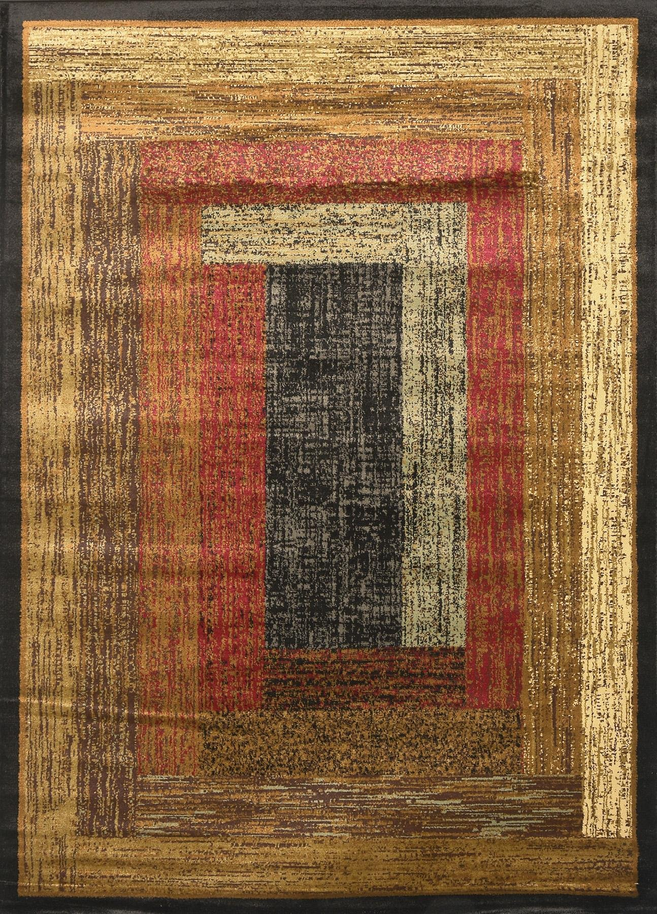 Home Dynamix Royalty – Quality Geometric Contemporary Modern Area Rug 7'8 x 10'4, Multi-colored