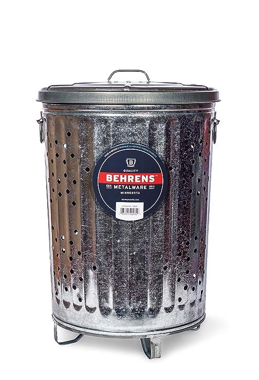 Behrens RB20 20-gallon quemador de basura/Tacho puede ...