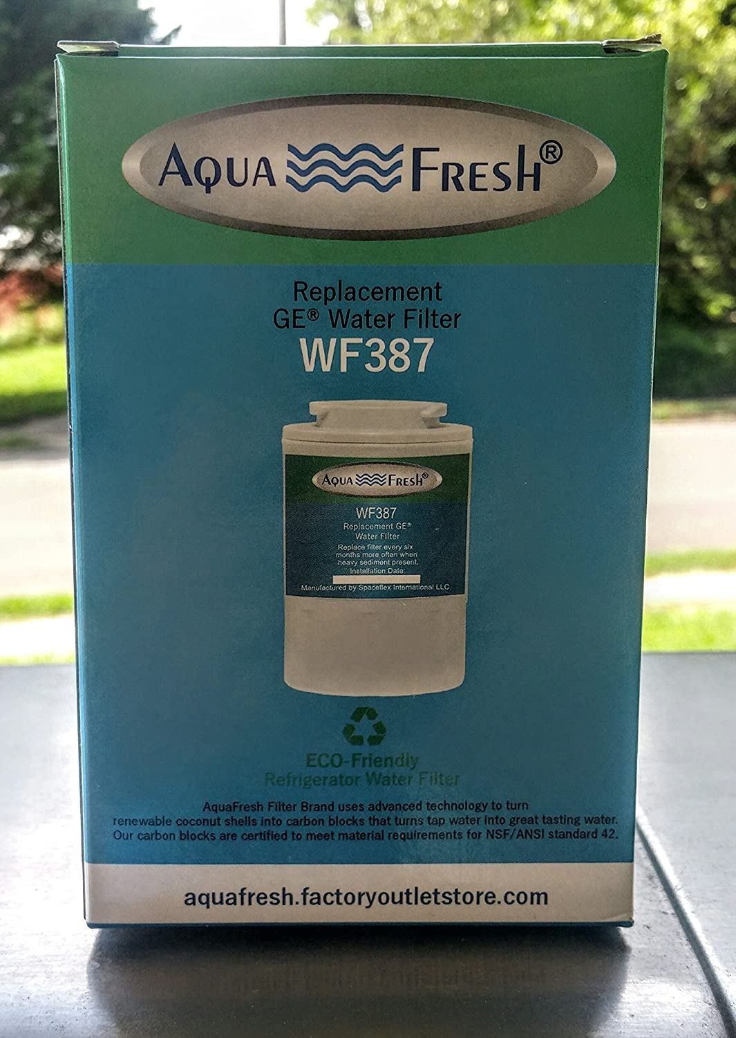 How To Replace Ge Water Filter Amazoncom Aqua Fresh Wf387 Replacement Ge Water Filter Kitchen