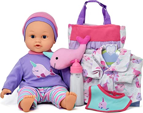 Gift Boutique's Soft Body Realistic Newborn Set with Accessories, 14