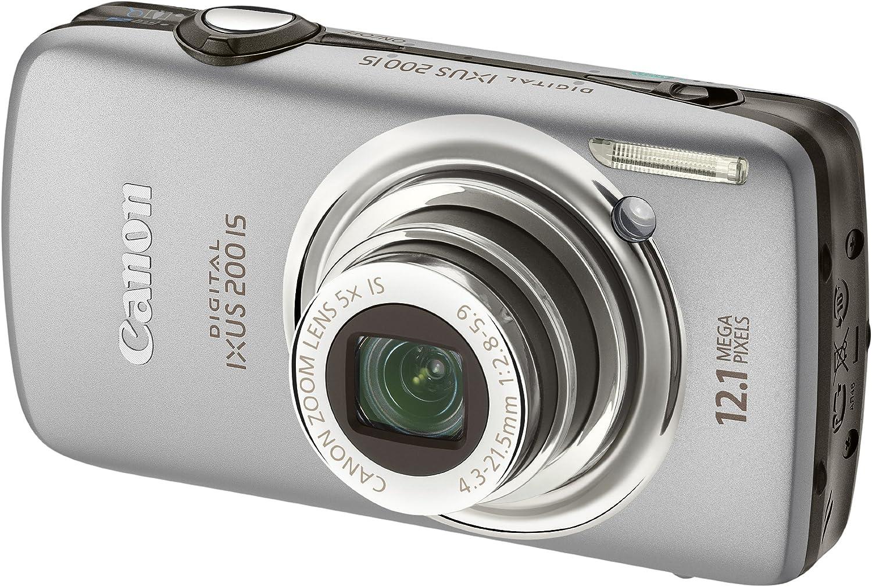 Canon Digital Ixus 200 Is Digitalkamera 3 Zoll Silber Kamera