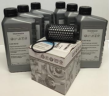 Partes de repuesto DSG cambio de aceite set ORIGINAL: Amazon.es: Coche y moto