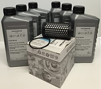Original Volkswagen VW Spare parts DSG Oil change SET (zB Golf