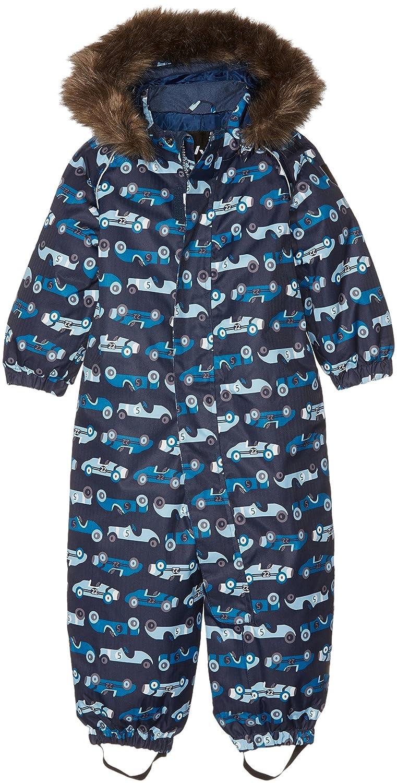 NAME IT Jungen Schneeanzug Mehrfarbig (Dress Blues) 80 13126716