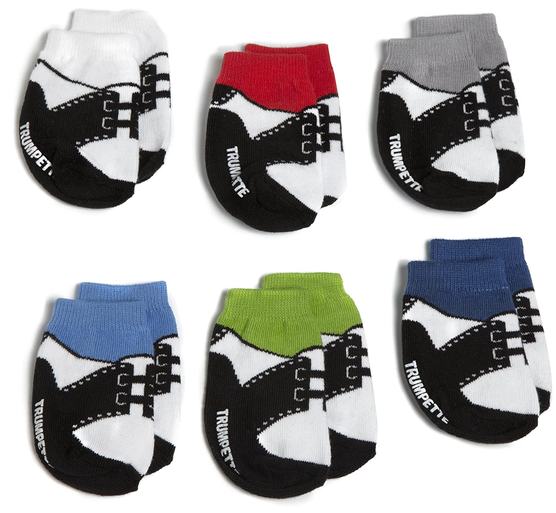0-12m 6uds. TRUMPETTE Baby Oxford Socks Calcetines