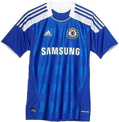 Adidas Chelsea Home Juventud fútbol Jersey - V13922, Azul (Chelsea Reflex Blue)