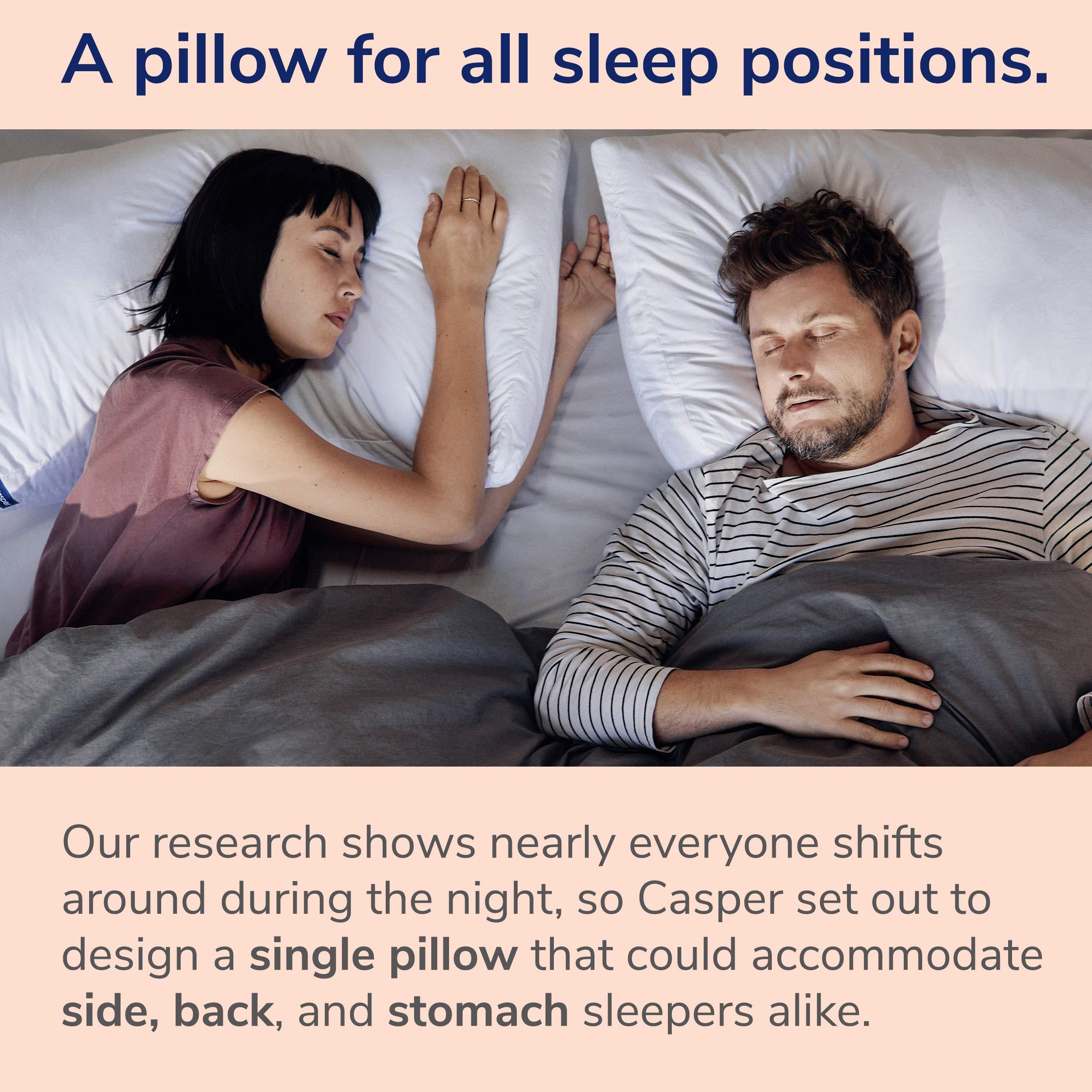 Casper Pillow for Sleeping, Standard, White by Casper Sleep (Image #6)