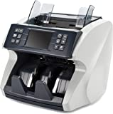 Mixed Denomination Bill Counter by Carnation – Fast, User-Friendly Money Counter Machine – Detects UV, MG, MT, IR – Works Worldwide: Up to 7 Different Currencies