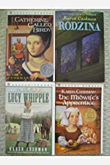 Karen Cushman Set (The Midwife's Apprentice, Rodzina, Ballad of Lucy Whipple, Catherine Called Birdy) Paperback
