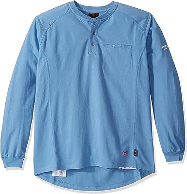 ARIAT FR Air Henley LS - Camisa Tejida para Hombre: Amazon.es: Ropa y accesorios