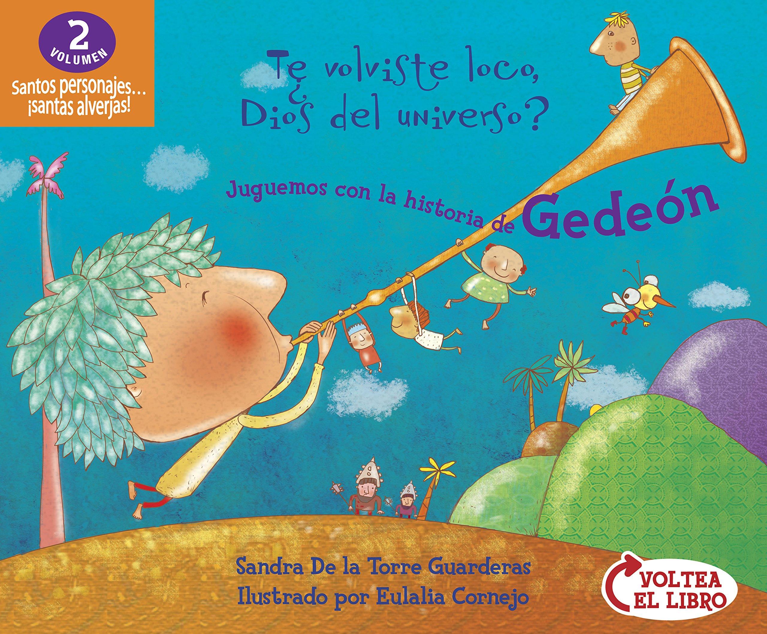 Read Online Juguemos con las historias de Rut y Gedeón: (Flip-book / Voltea-el-libro) (Santos personajes) (Spanish Edition) ebook