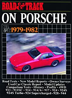 Road Track on Porsche 1979-1982 (Brooklands Books Road Tests Series) (Brooklands Road Tests S): R.M. Clarke: 9780907073789: Amazon.com: Books
