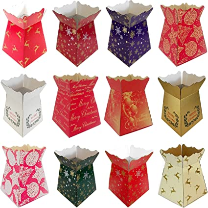 Diamante Crafts 1 x Red Living Vase Bouquet Sweet Box