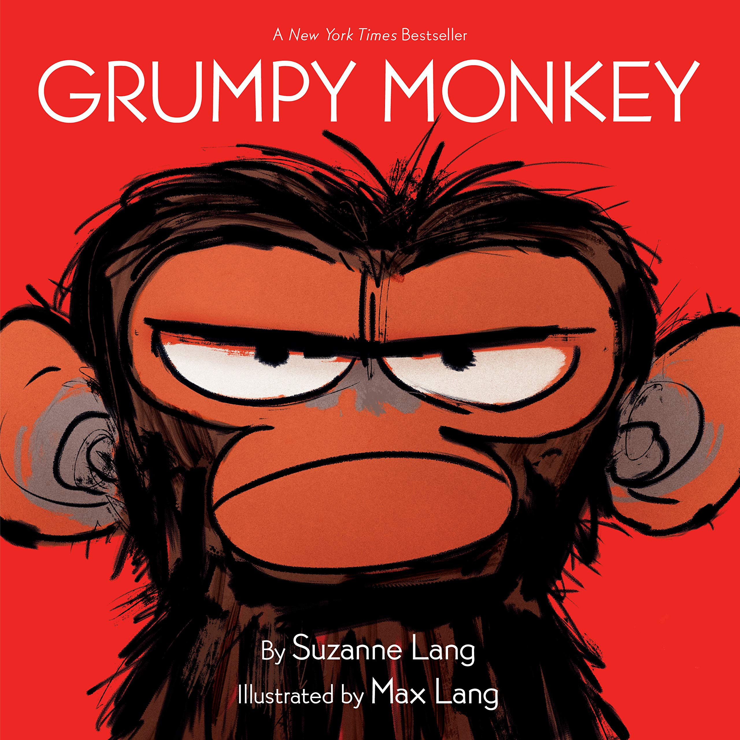 Grumpy Monkey: Lang, Suzanne, Lang, Max: 9780553537864: Amazon.com ...