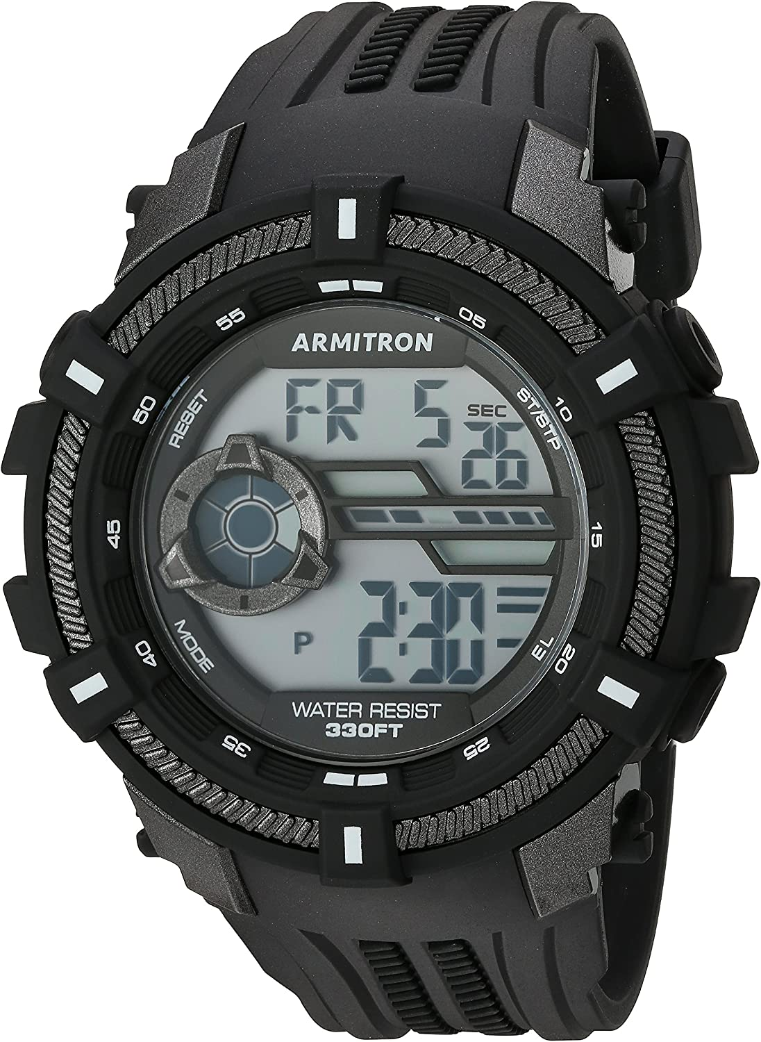 Armitron Sport Men s 40 8384 Digital Chronograph Resin Strap Watch