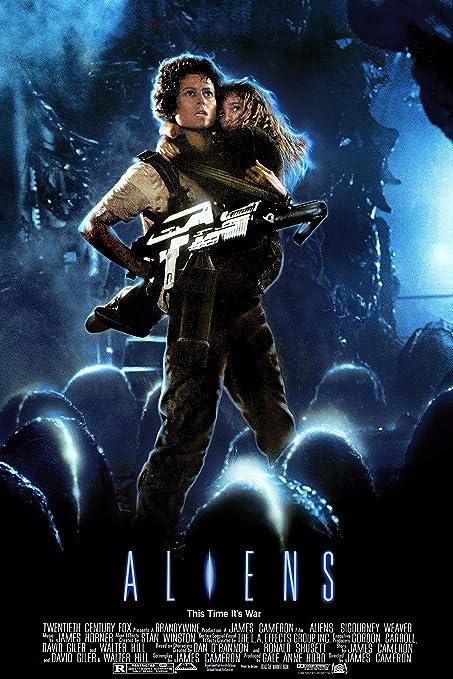 Image result for aliens poster