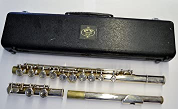 buffet crampon cooper 228 silver plated flute with carry case rh amazon ca buffet crampon flute 228 buffet crampon flute 225