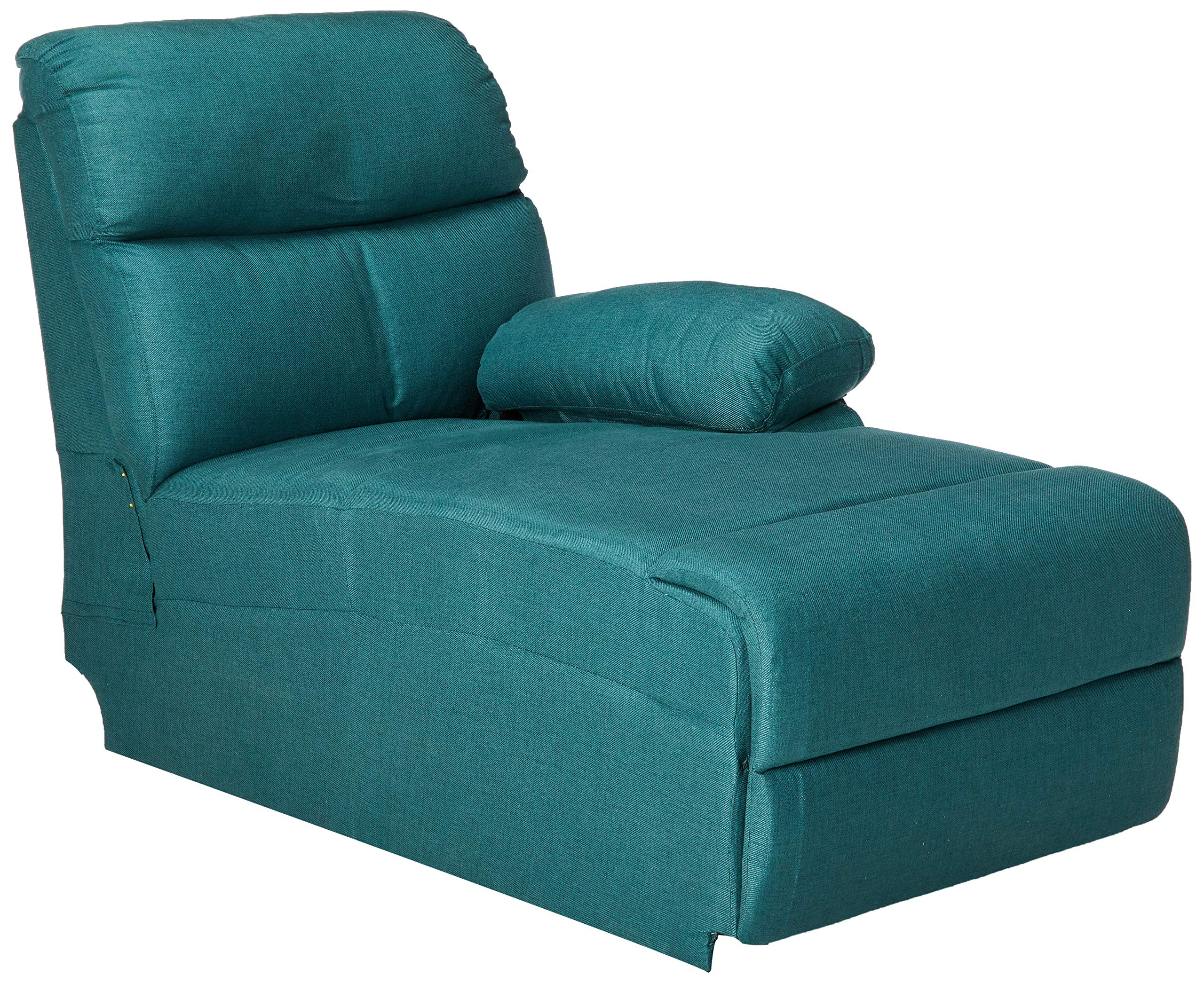 Christopher Knight Home Susana Comfort Modern Fabric Chaise (Dark Teal) by Christopher Knight Home
