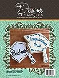 Graduation Cap Cookie Cutter and Stencil Set by Designer Stencils