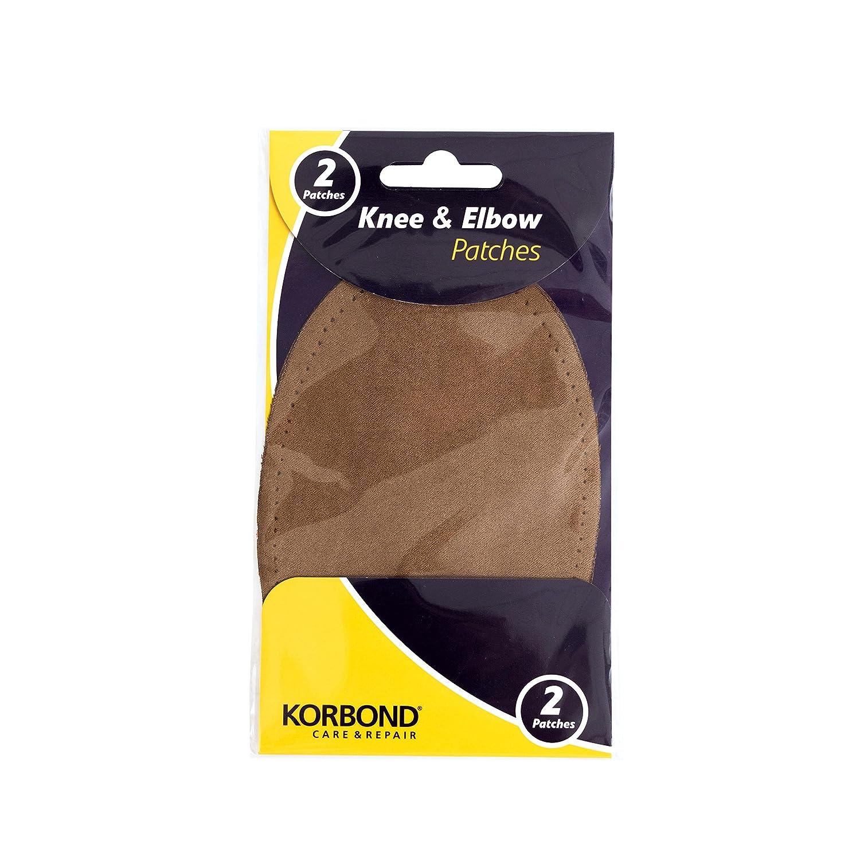 Korbond Knee & Elbow Patches, Black, 2-Piece 110392