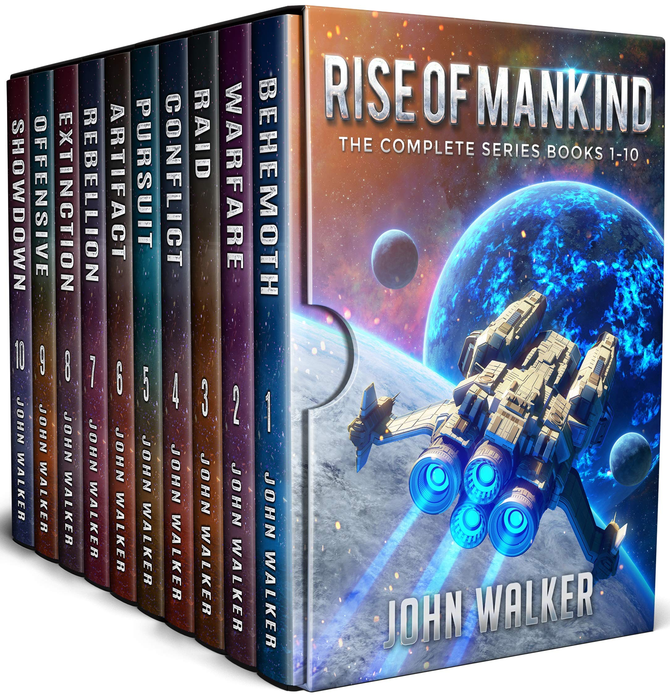 Rise Of Mankind  The Complete Series Books 1 10  English Edition