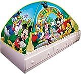 Playhut Mickey Mouse Club House Bed Tent Playhouse  sc 1 st  Amazon.com & Amazon.com: Playhut Disney Princess Bed Tent Playhouse: Toys u0026 Games