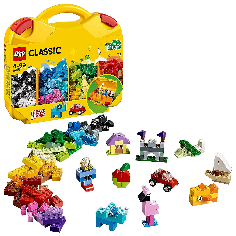 Lego Classic Valigetta Creativa, 10713, Modelli/Colori Assortiti, 1 Pezzo
