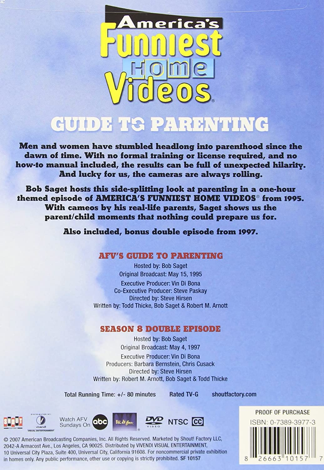 Amazon.com: America\'s Funniest Home Videos: Guide To Parenting: Bob ...