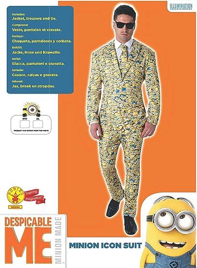 Rubies s – Disfraz de oficial MINION traje de icono Crazy ...