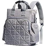 SoHo 系列,Kenneth 背包尿布包 5 件套 经典灰色