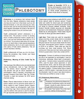 Amazon phlebotomist a bloody quick guide to phlebotomy ebook phlebotomy speedy study guides fandeluxe Image collections