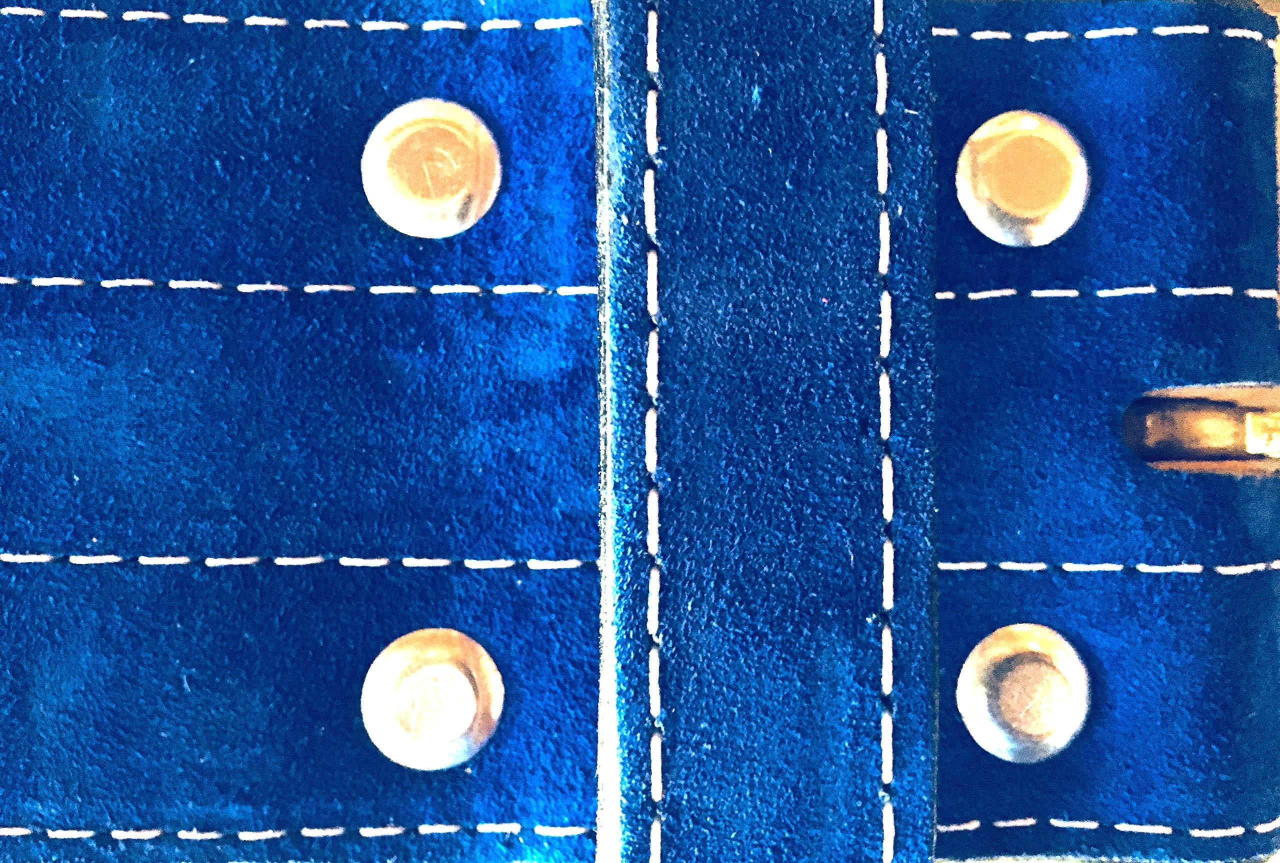 Inzer Advance Designs Forever Buckle Belt 10MM (Royal Blue, X-Large)