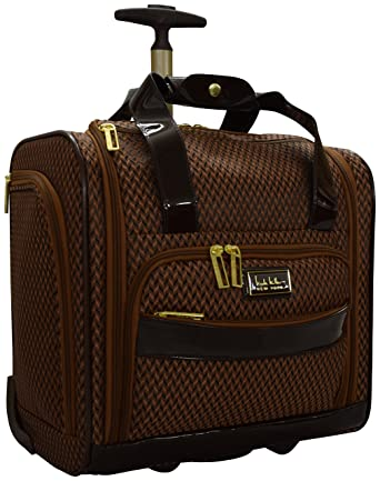 77a90e24d095 Nicole Miller New York Kristina Collection 15 quot  Under Seat Bag ...