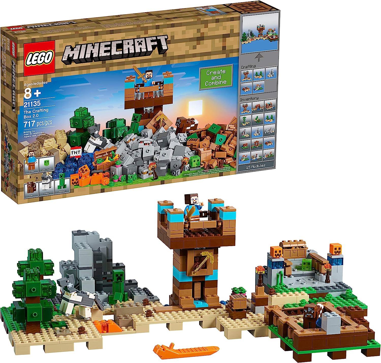 A Caixa De Minecraft 110.10 Lego Minecraft Sem Cor Especificada