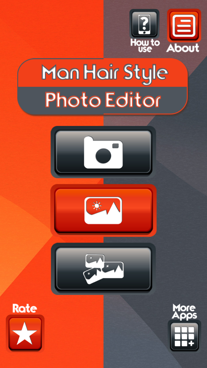 Man Hair Style Photo Editor