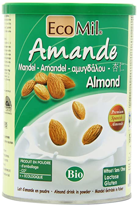 Ecomil is the only easily available powedered almond milk on the market