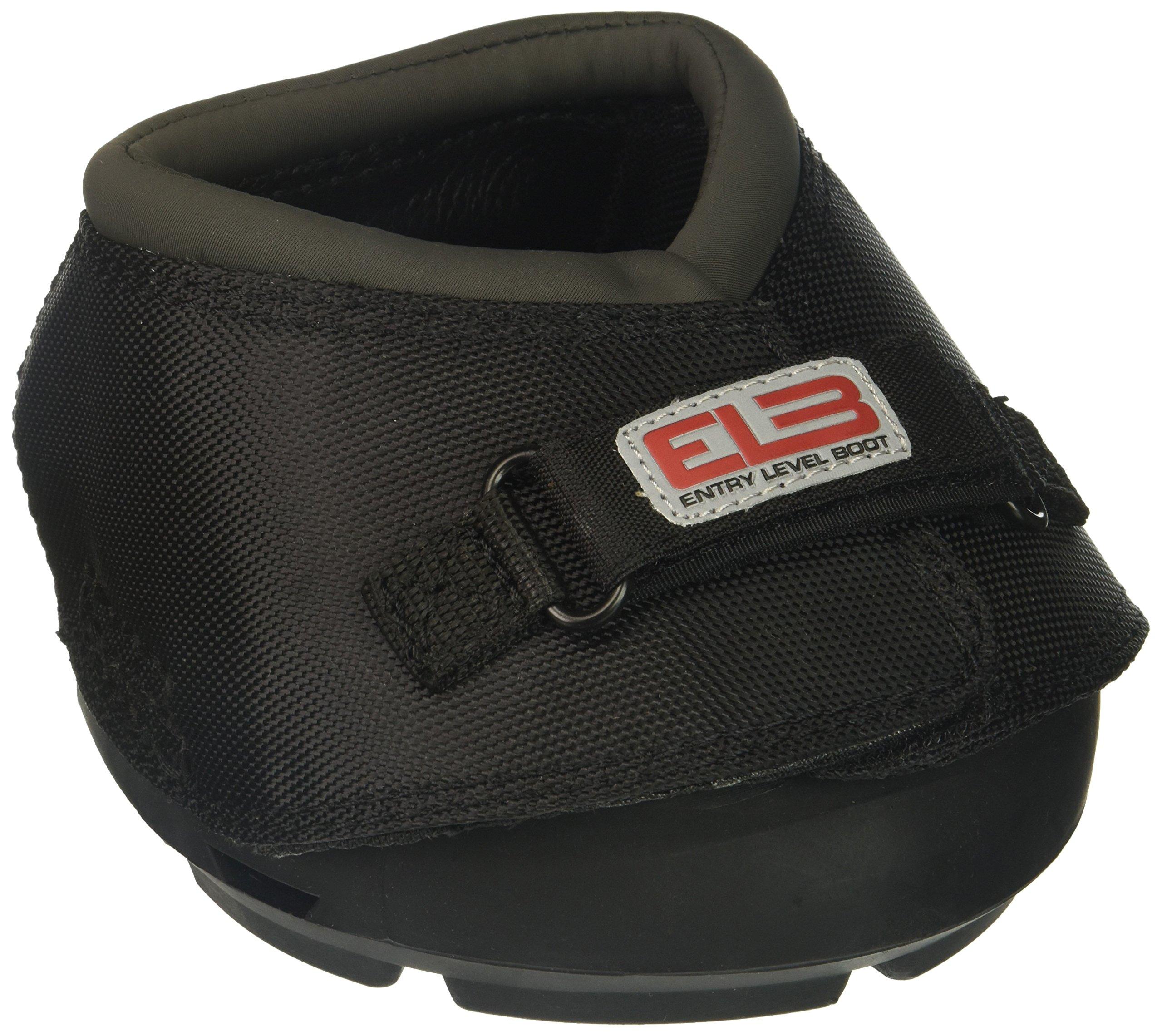 Cavallo Horse & Rider DELBR-3 ELB Regular Sole Hoof Boot, Size 3, Black