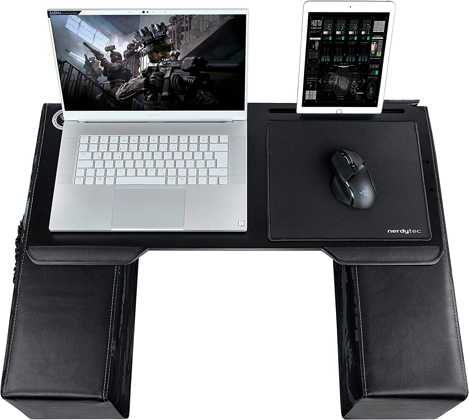Including Pillows Ergonomic Lap Desk for Notebooks or Wireless Equipment Mousepad Couchmaster CYBOT