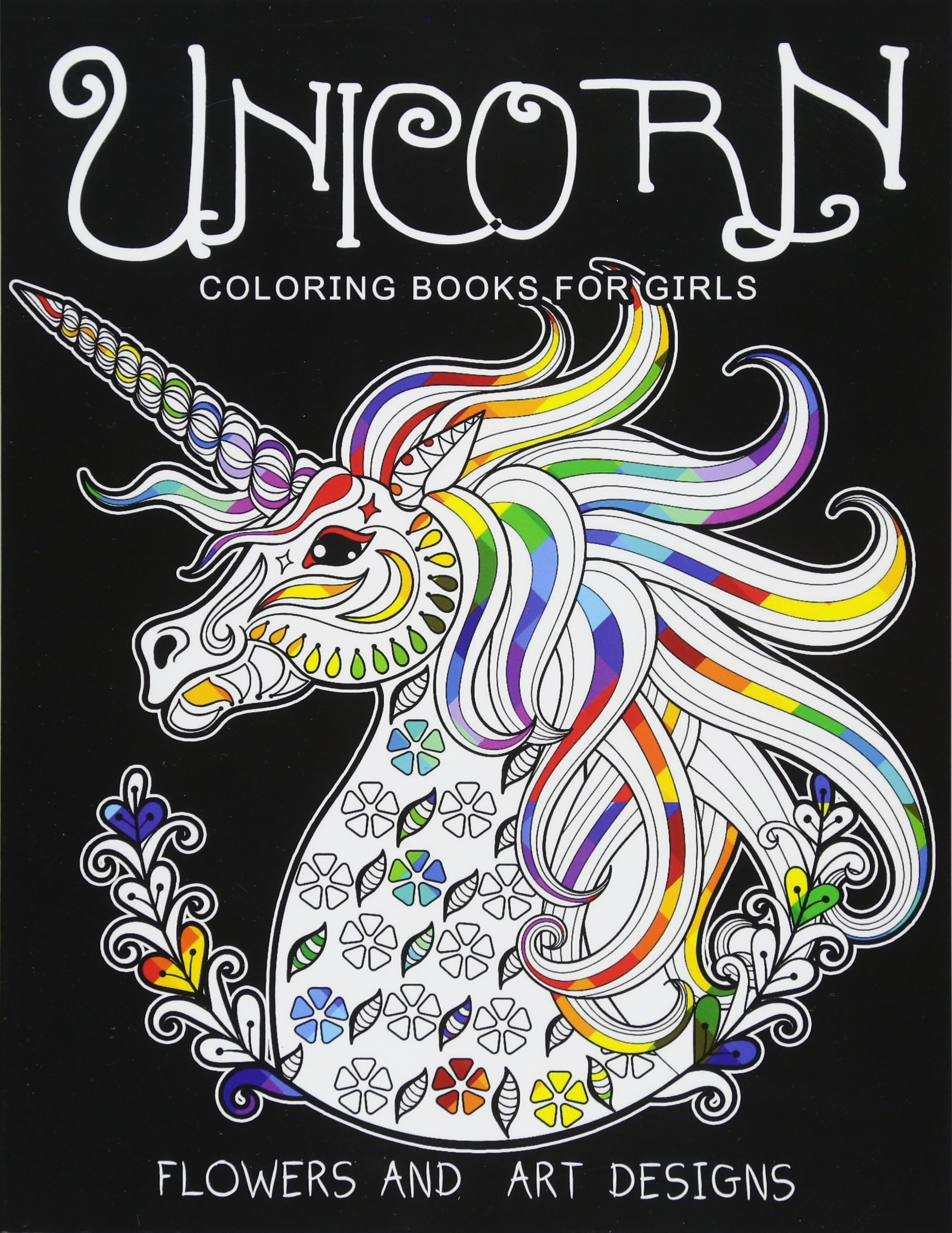Amazon.com: Unicorn Coloring Books For Girls: Featuring Various