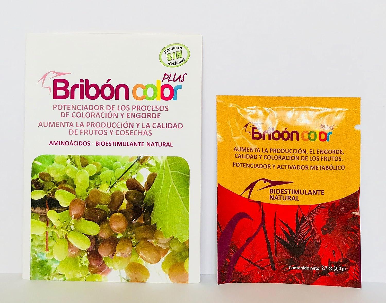 BRIBON® 6 M Nano Concentrado. Potente Bioestimulante-Abono orgánico-Fertilizante Especial. Vigor, Color, Fortaleza. Belleza en Plantas y Flores de Interior-Exterior. (200 m2 x dosis)