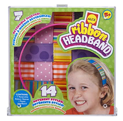 Amazon alex toys do it yourself wear ribbon headbands toys games alex toys do it yourself wear ribbon headbands solutioingenieria Images