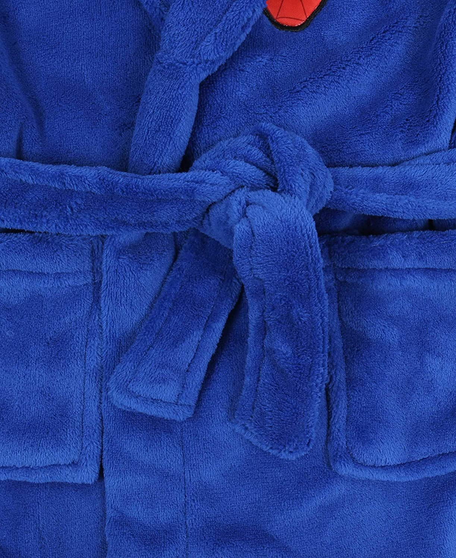 Blue Dressing Gown Bathrobe for Boys Spider-Man Marvel