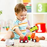 Pedy Car Toys, 6 Pack Toddler Toys Vehicles, Push