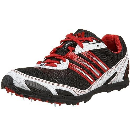 reputable site 60c10 013d4 adidas Women s XCS Running Shoe,Black Scarlet White,7.5 M