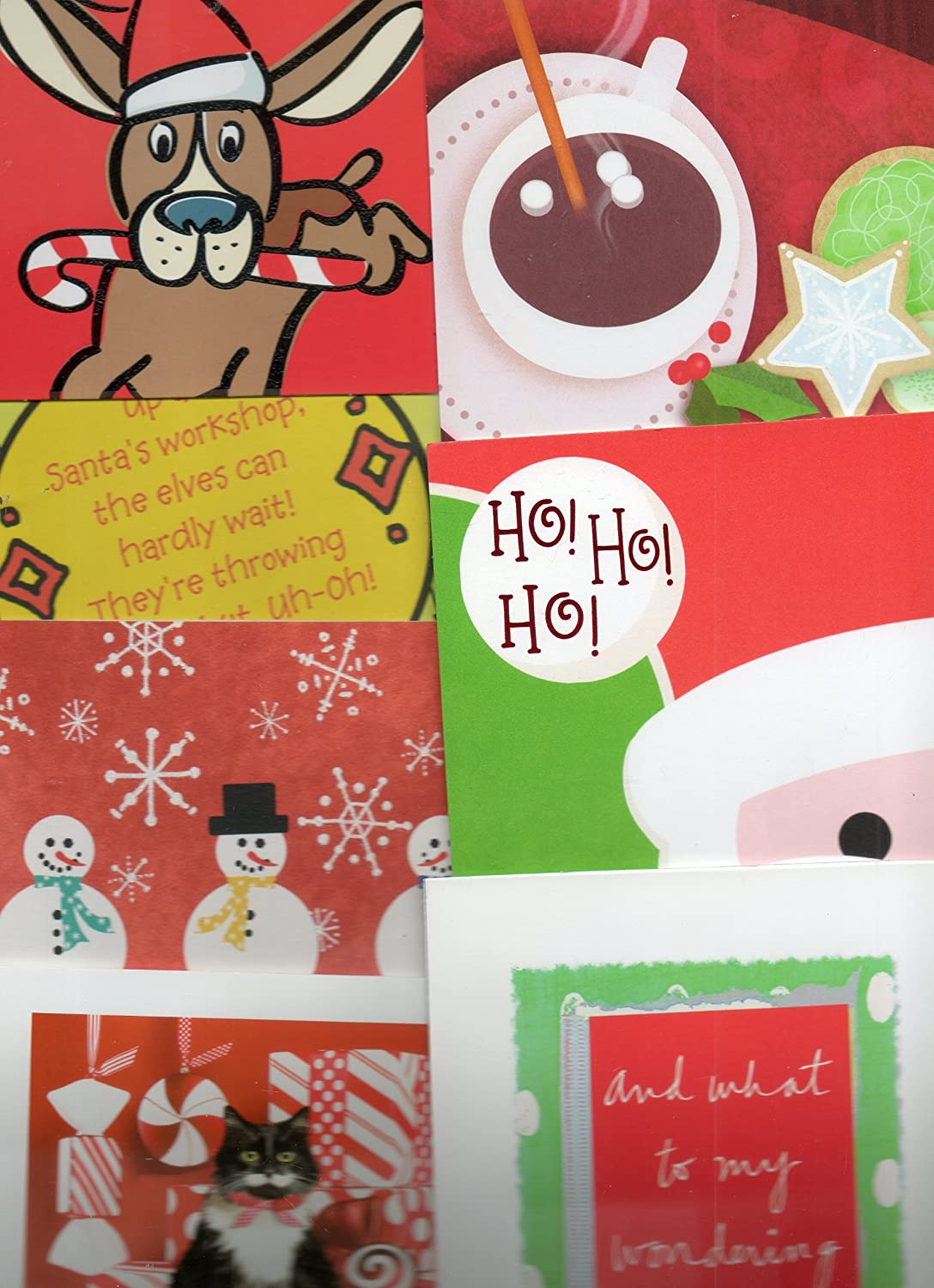 amazon com 7 christmas cards sunrise greetings made in usa with