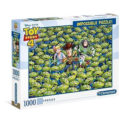 Clementoni Impossible Puzzle Toy Story 4-1000 Piezas, 39499: Juguetes y juegos